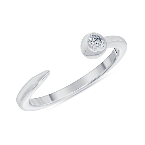 The Diamond Nail Ring - Happy Jewelers Fine Jewelry Lifetime Warranty