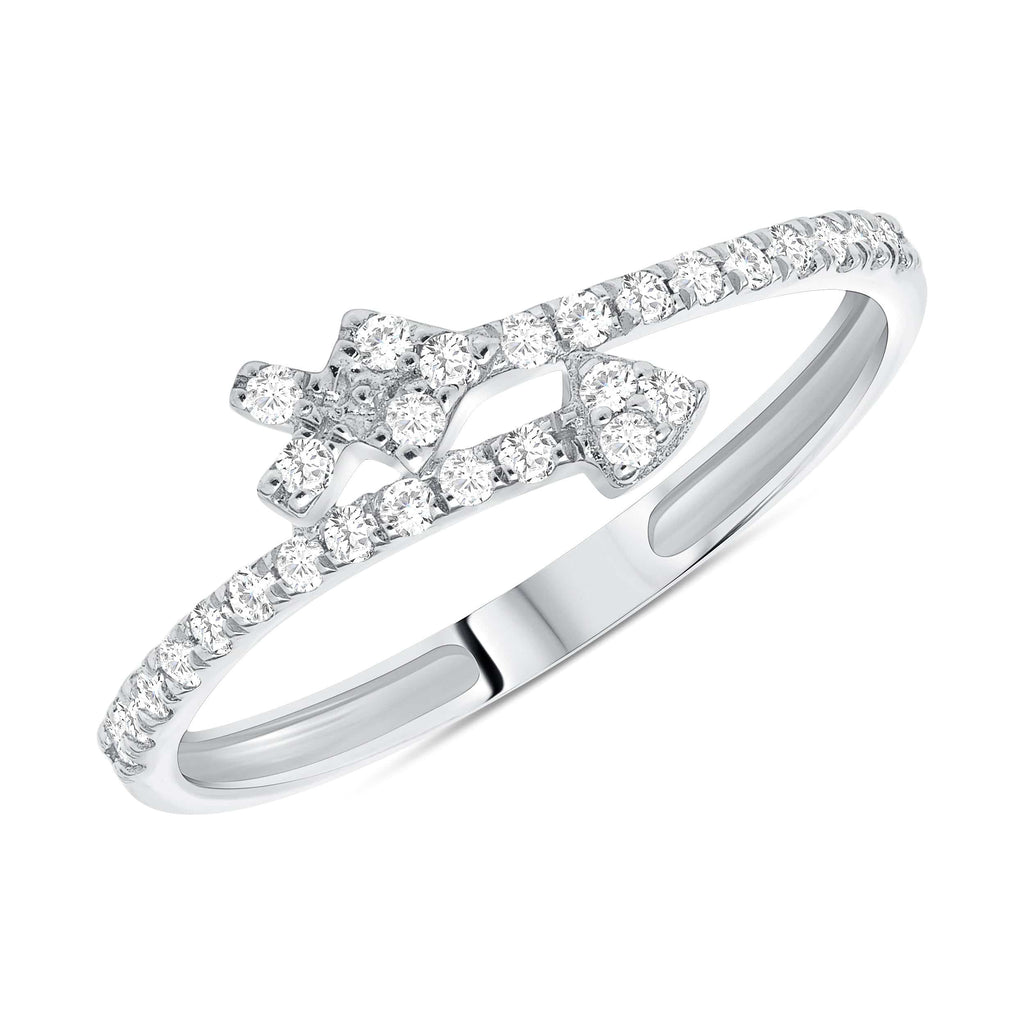 Dainty Arrow Ring - Happy Jewelers Fine Jewelry Lifetime Warranty