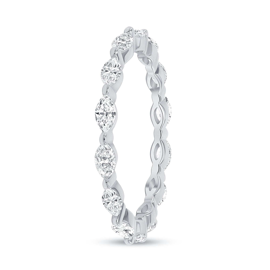 Stackable Marquise Shared Prong - Happy Jewelers Fine Jewelry Lifetime Warranty