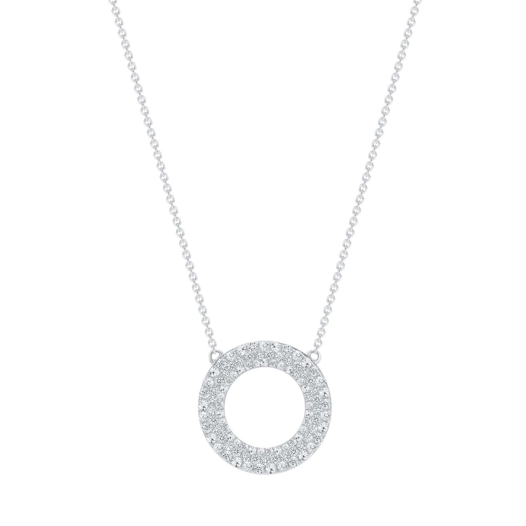 Open Diamond Pendant - Happy Jewelers Fine Jewelry Lifetime Warranty