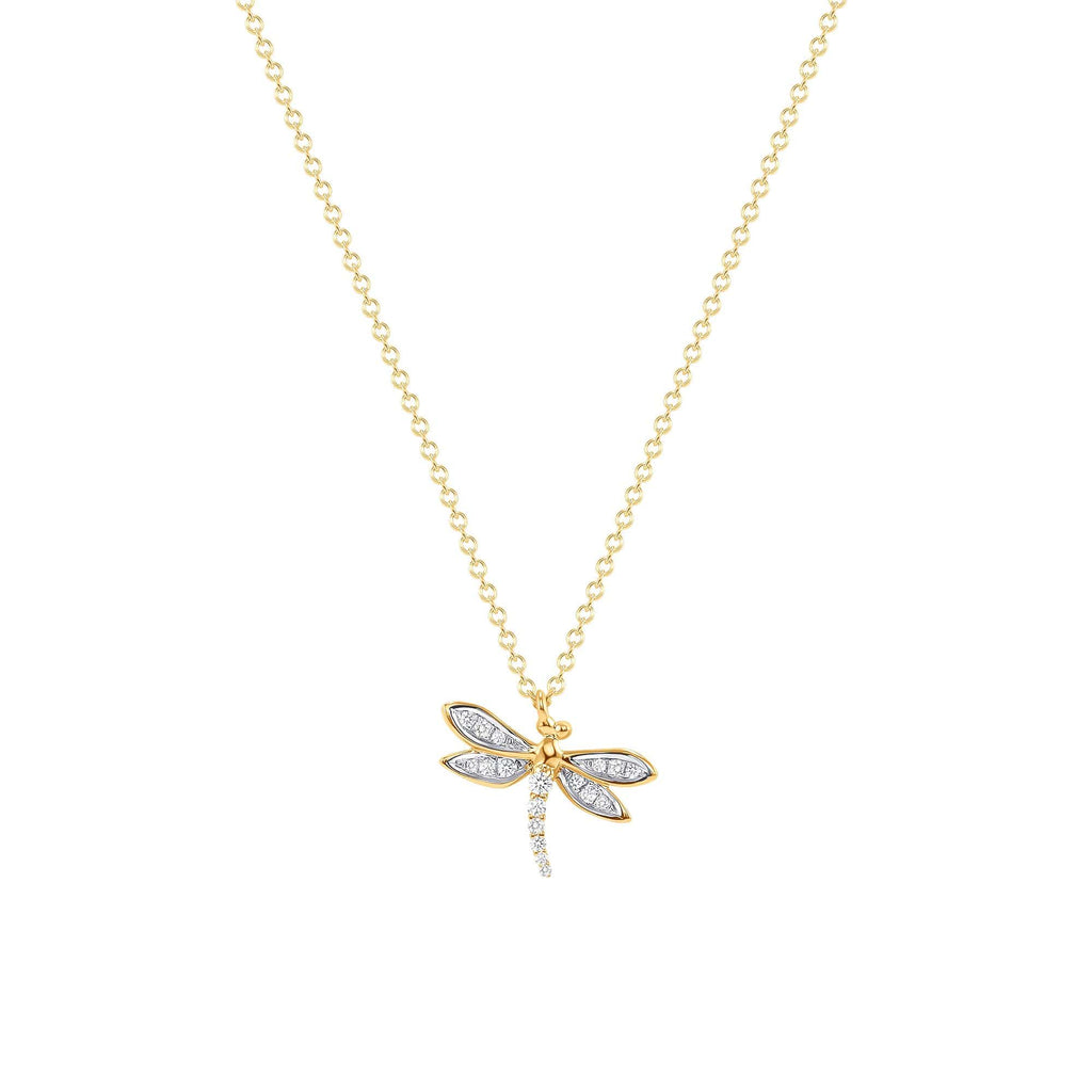 Dragonfly Necklace - Happy Jewelers Fine Jewelry Lifetime Warranty