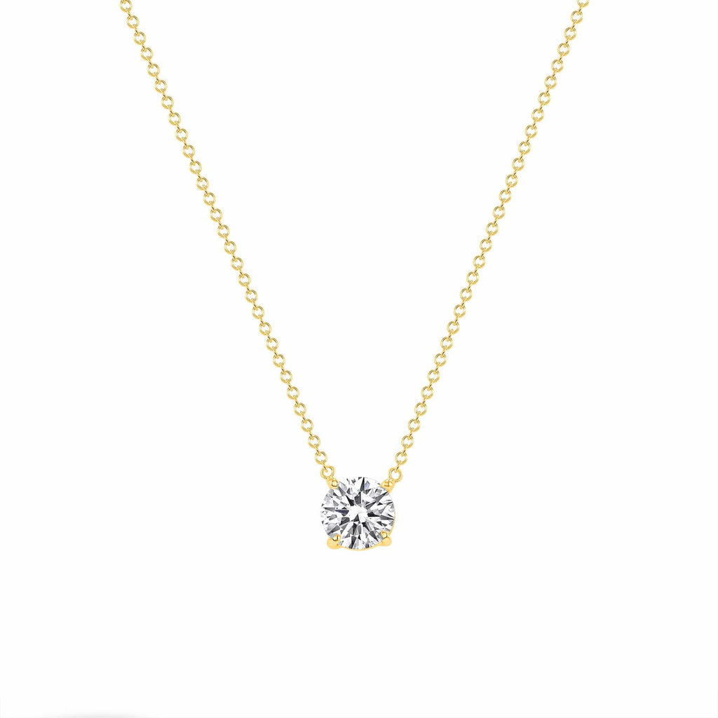 Diamond Solitaire Pendant - Happy Jewelers Fine Jewelry Lifetime Warranty