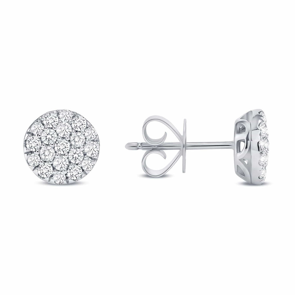 The Aria Studs - Happy Jewelers Fine Jewelry Lifetime Warranty