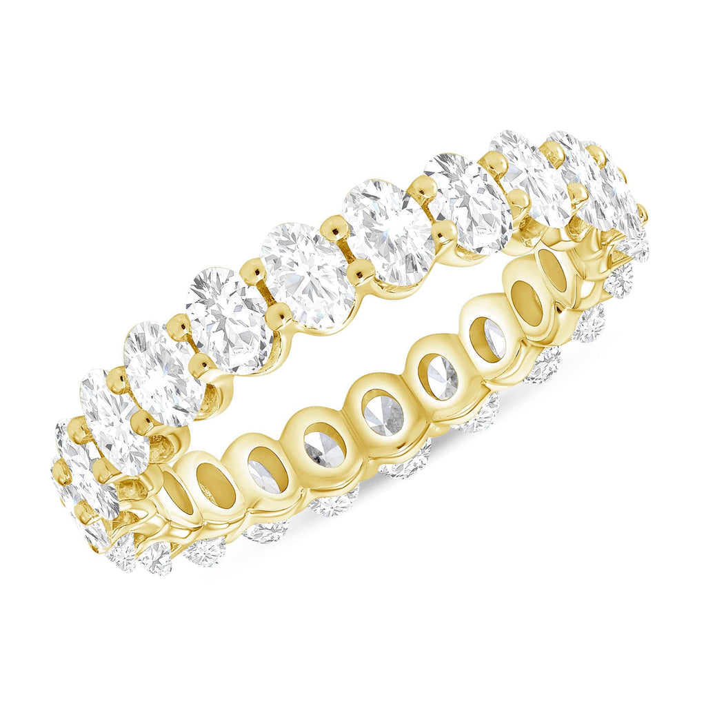 3.7mm Oval Eternity Band - Happy Jewelers Fine Jewelry Lifetime Warranty