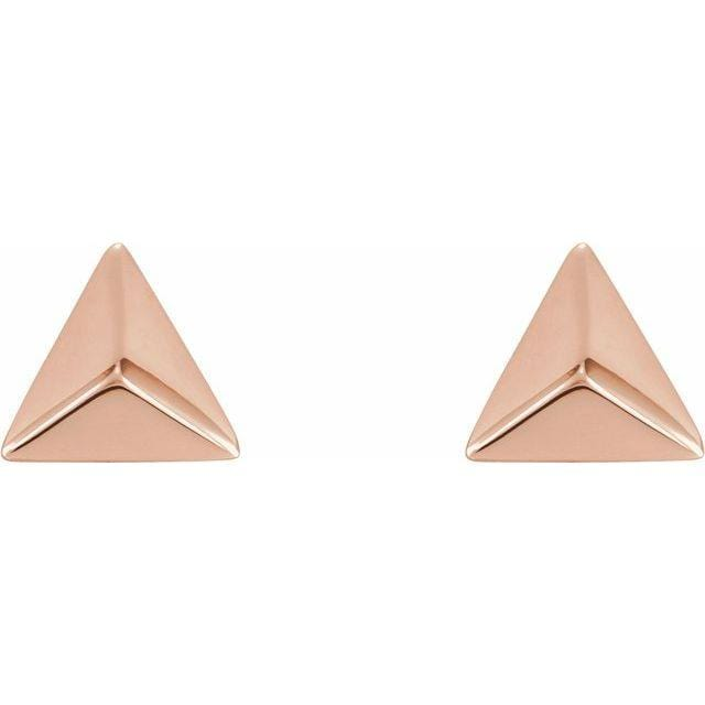 Pyramid Studs - Happy Jewelers Fine Jewelry Lifetime Warranty