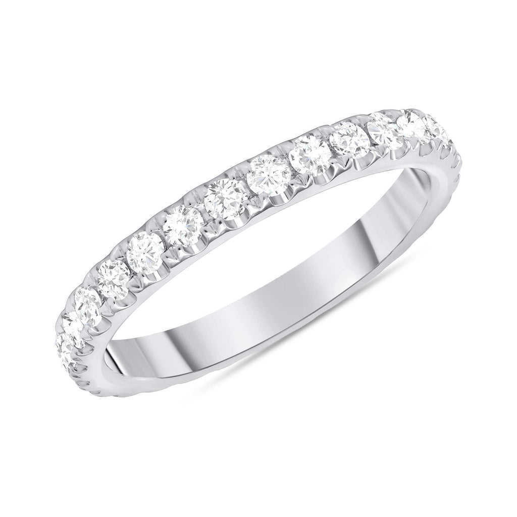 2.6mm Diamond Eternity Band - Happy Jewelers Fine Jewelry Lifetime Warranty