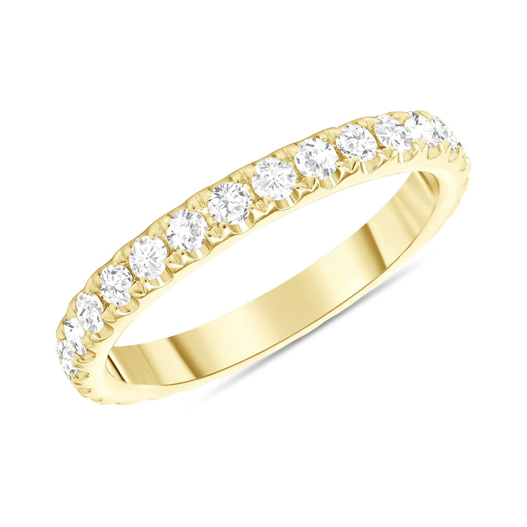 2.6mm Diamond Eternity Wedding Band - Happy Jewelers Fine Jewelry Lifetime Warranty