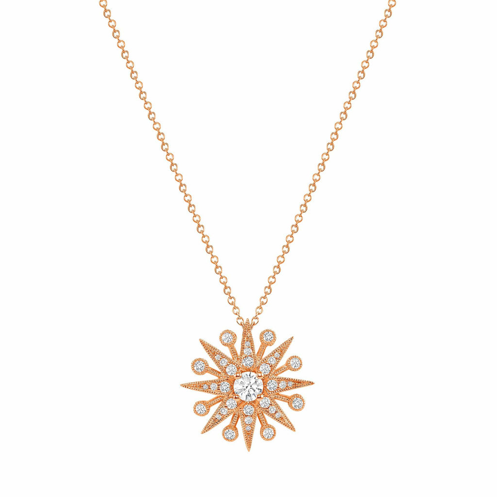 Starburst Pendant - Happy Jewelers Fine Jewelry Lifetime Warranty