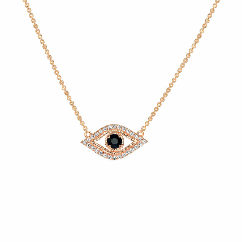 Evil Eye Necklace - Happy Jewelers Fine Jewelry Lifetime Warranty