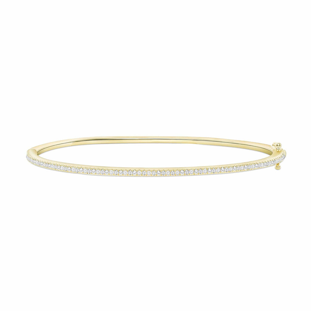 Dainty Diamond Bangle - Happy Jewelers Fine Jewelry Lifetime Warranty