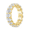Oval Diamond Eternity Band w/ .30 Stones - Happy Jewelers Fine Jewelry Lifetime Warranty