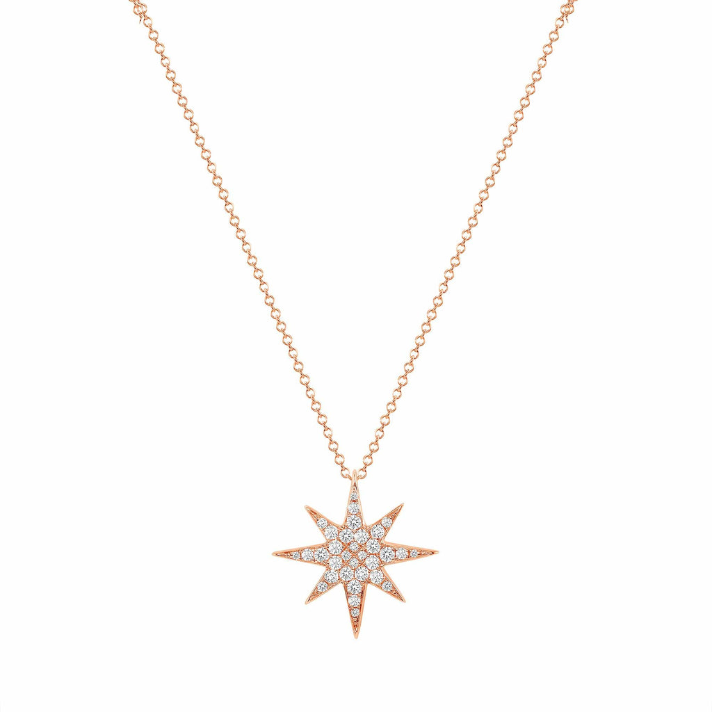 Diamond Star Pendant - Happy Jewelers Fine Jewelry Lifetime Warranty