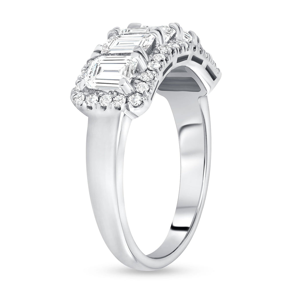 Diamond Baguette Right Hand Ring - Happy Jewelers