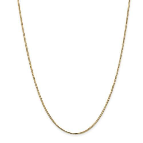 1.20mm Franco Chain - Happy Jewelers Fine Jewelry Lifetime Warranty