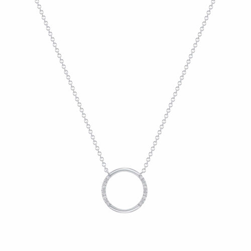 Mini Dainty Circle Pendant - Happy Jewelers Fine Jewelry Lifetime Warranty