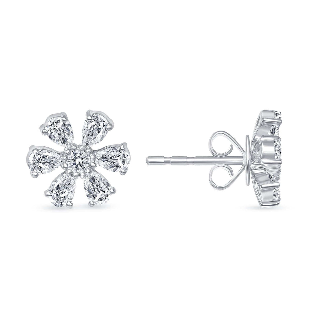 The Daisy Earrings - Happy Jewelers Fine Jewelry Lifetime Warranty