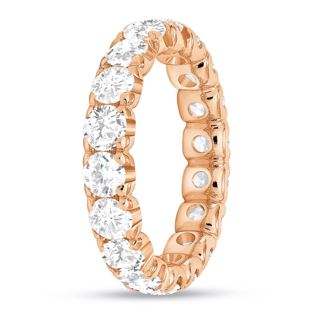 3.7mm Round Diamond Eternity Band - Happy Jewelers Fine Jewelry Lifetime Warranty