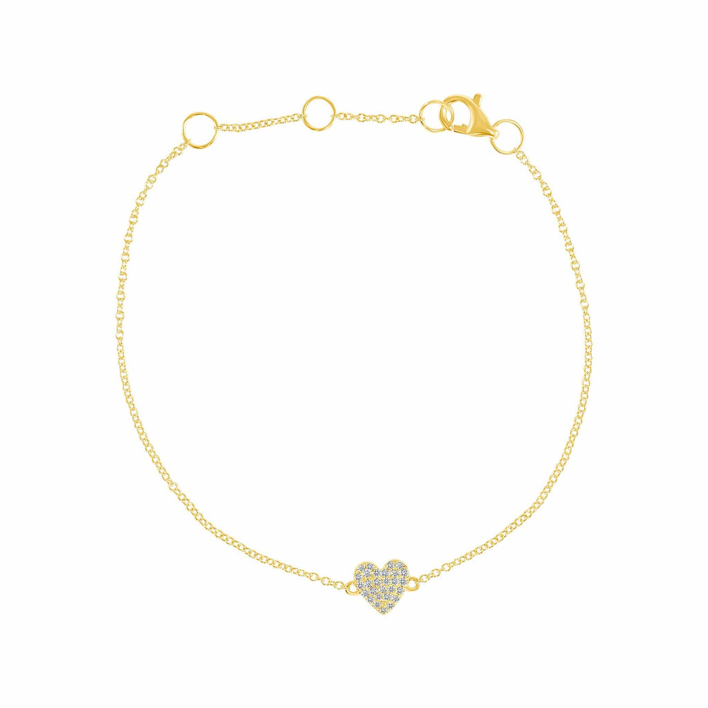 Mini Heart Bracelet - Happy Jewelers Fine Jewelry Lifetime Warranty