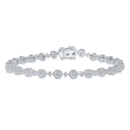 Blossom Tennis Bracelet - Happy Jewelers Fine Jewelry Lifetime Warranty