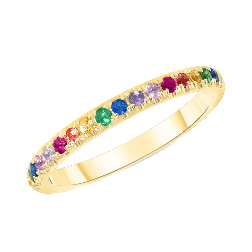 The Rainbow Ring - Happy Jewelers Fine Jewelry Lifetime Warranty