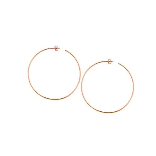 Large Skinny Hoops - Happy Jewelers Fine Jewelry Lifetime Warranty