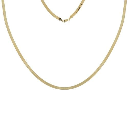 5.2 mm The Lovie Herringbone Necklace - Happy Jewelers Fine Jewelry Lifetime Warranty