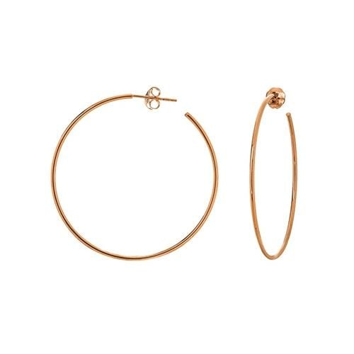 Medium Skinny Hoops - Happy Jewelers Fine Jewelry Lifetime Warranty