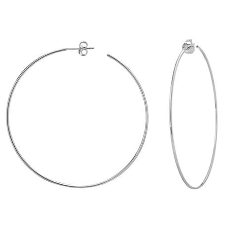 X-Large Skinny Hoops - Happy Jewelers Fine Jewelry Lifetime Warranty