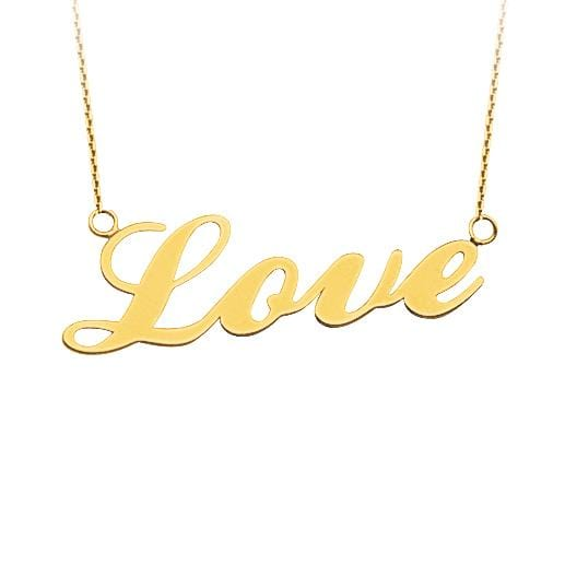 Give me Love Necklace - Happy Jewelers Fine Jewelry Lifetime Warranty
