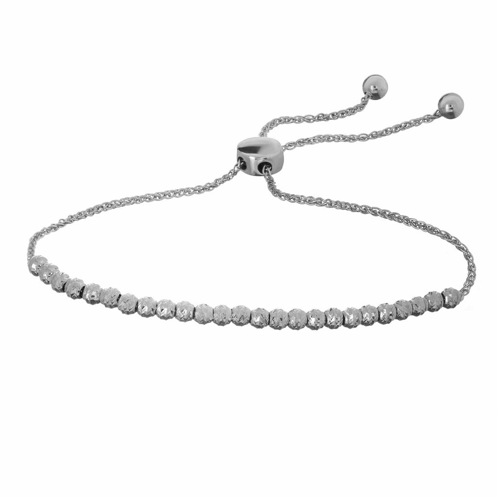 Moon Cut Bolo Bracelet - Happy Jewelers Fine Jewelry Lifetime Warranty