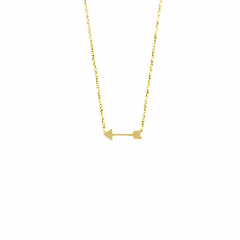 Cupid Arrow Necklace - Happy Jewelers Fine Jewelry Lifetime Warranty