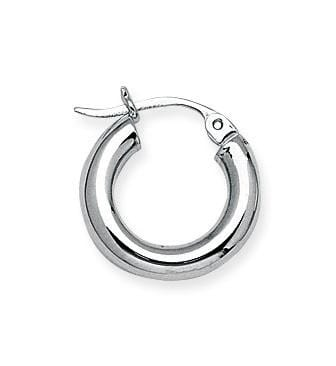 3.0mm Mini Thick Hoops - Happy Jewelers