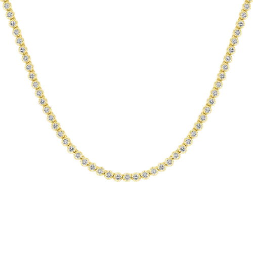 Illusion Tennis Necklace - Happy Jewelers Fine Jewelry Lifetime Warranty