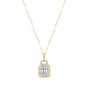 Baguette Pendant - Happy Jewelers Fine Jewelry Lifetime Warranty