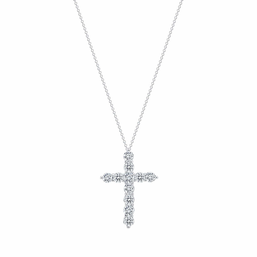 2 Carat Diamond Cross - Happy Jewelers Fine Jewelry Lifetime Warranty