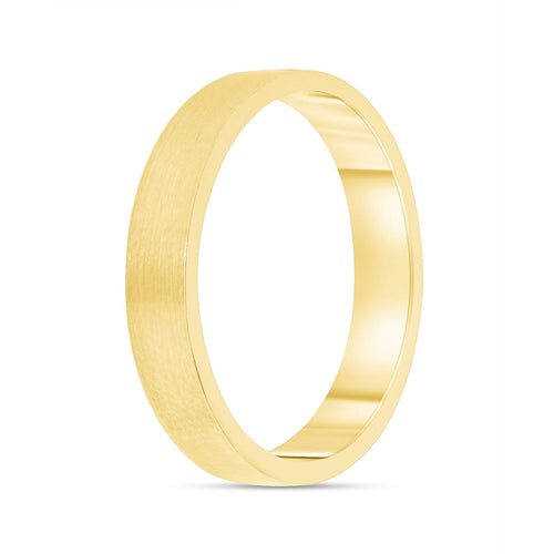 Brushed 3.6mm Band - Happy Jewelers Fine Jewelry Lifetime Warranty