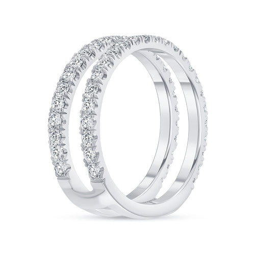 Double Bar Band - Happy Jewelers Fine Jewelry Lifetime Warranty