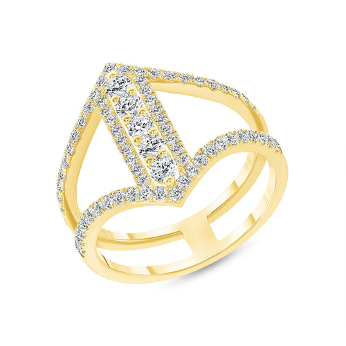 The Tina Ring - Happy Jewelers Fine Jewelry Lifetime Warranty