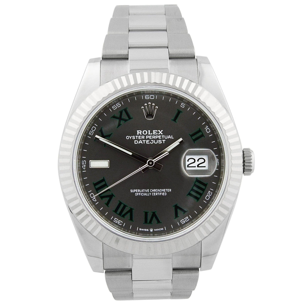 Rolex Men's Datejust Stainless Steel - Happy Jewelers Fine Jewelry Lifetime Warranty
