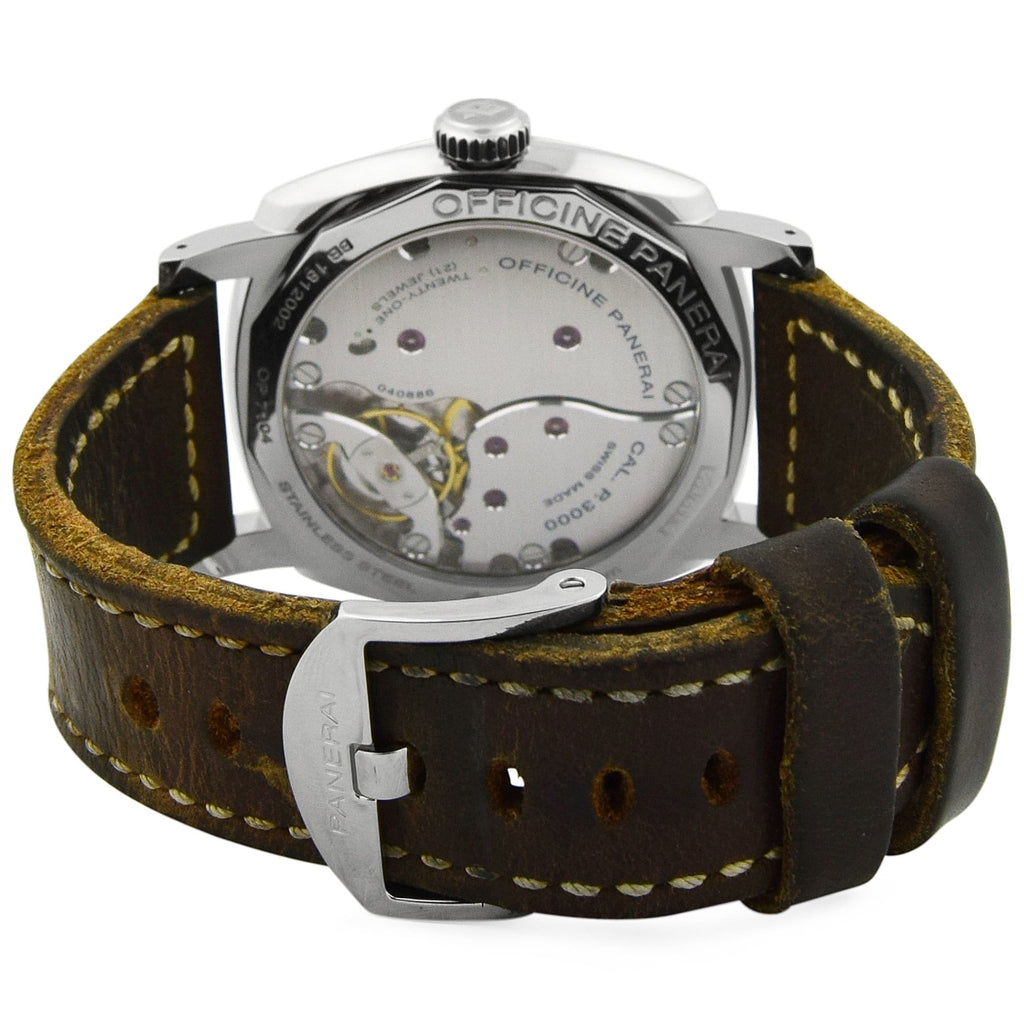 Panerai Mens Radiomir 1940 Stainless Steel 47mm Blue Dial Watch - Happy Jewelers Fine Jewelry Lifetime Warranty