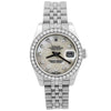 Rolex Lady Datejust Stainless Steel 26mm MOP Diamond Dot Dial Watch Reference #: 179174 - Happy Jewelers Fine Jewelry Lifetime Warranty