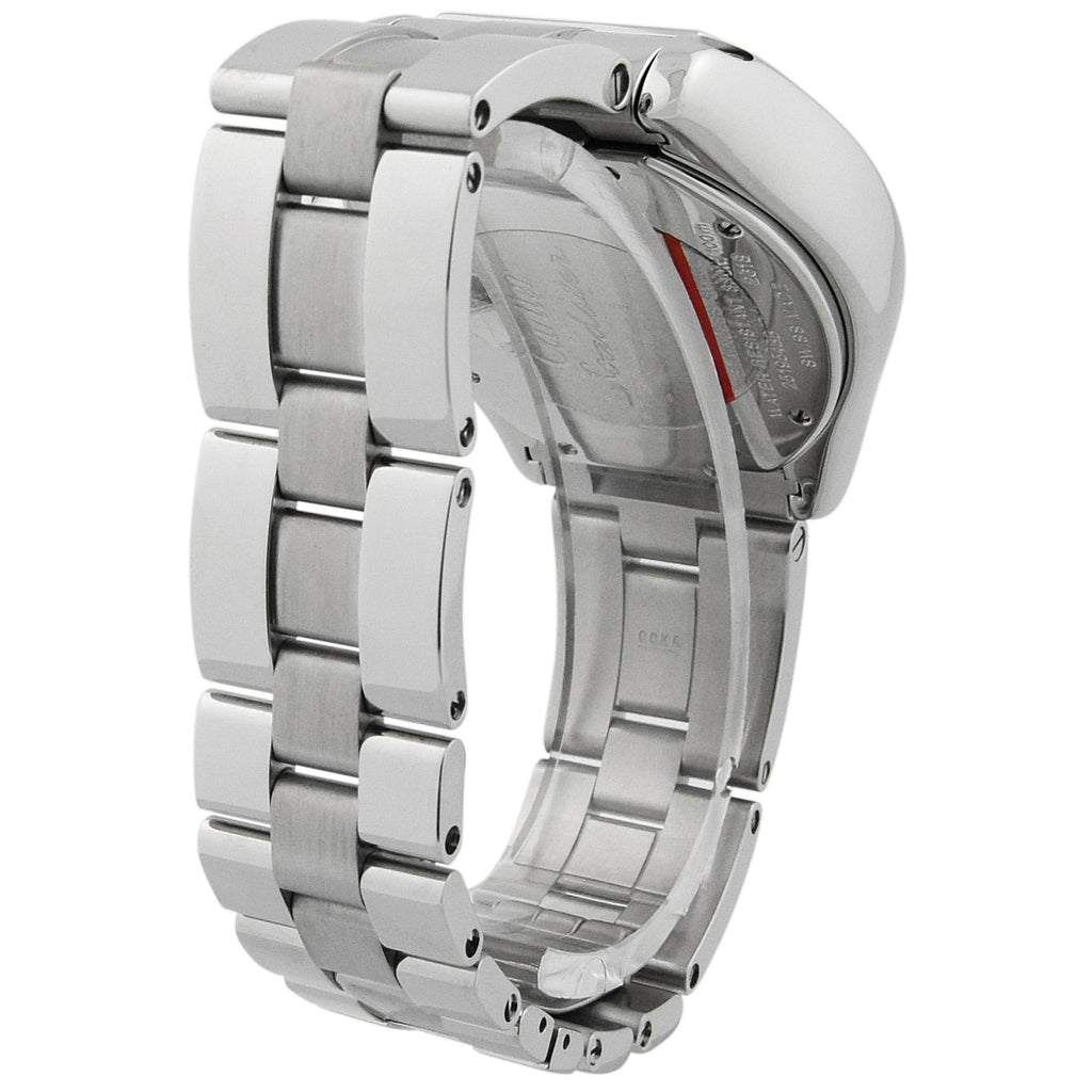 Cartier Mens Roadster Stainless Steel 40mm Silver Roman Dial Chronograph Watch Reference #: 2618 - Happy Jewelers Fine Jewelry Lifetime Warranty