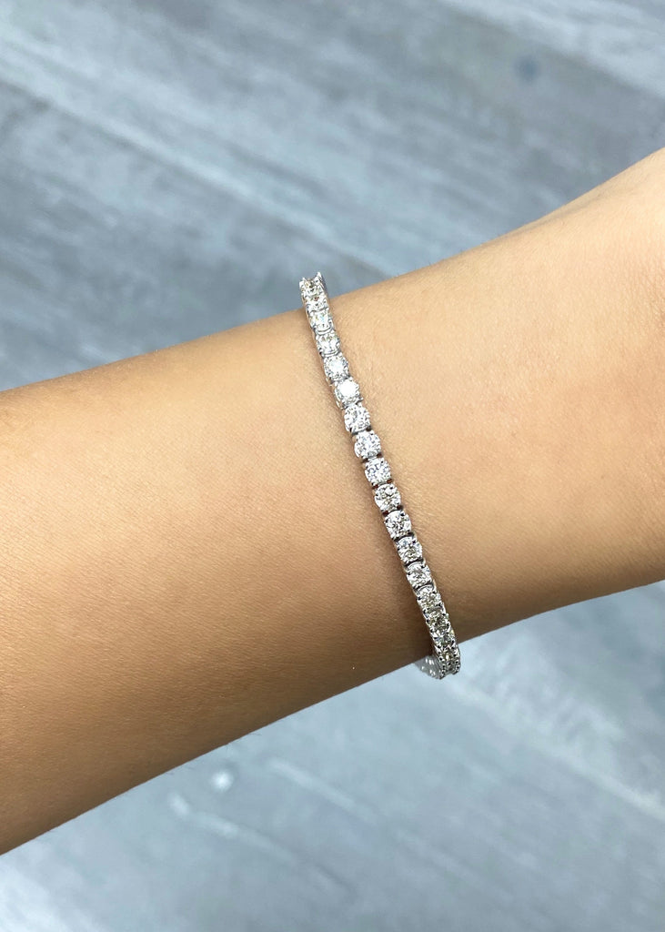 2.9mm Diamond Tennis Bracelet - Happy Jewelers Fine Jewelry Lifetime Warranty
