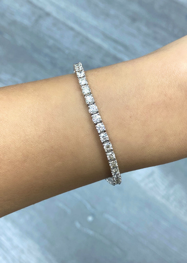 3.50mm Diamond Tennis Bracelet - Happy Jewelers Fine Jewelry Lifetime Warranty