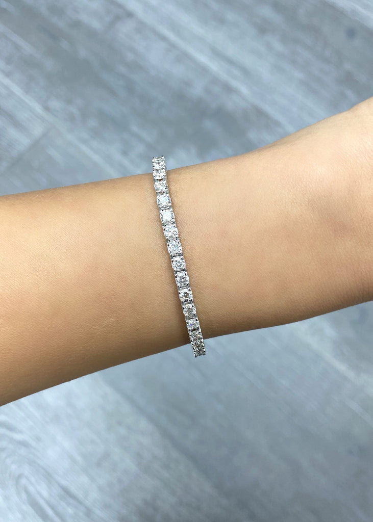3.30mm Diamond Tennis Bracelet - Happy Jewelers Fine Jewelry Lifetime Warranty