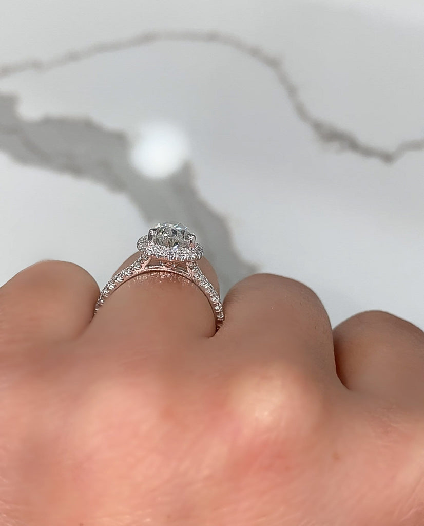 2.01 Pear Shape Engagement Ring - Happy Jewelers Fine Jewelry Lifetime Warranty