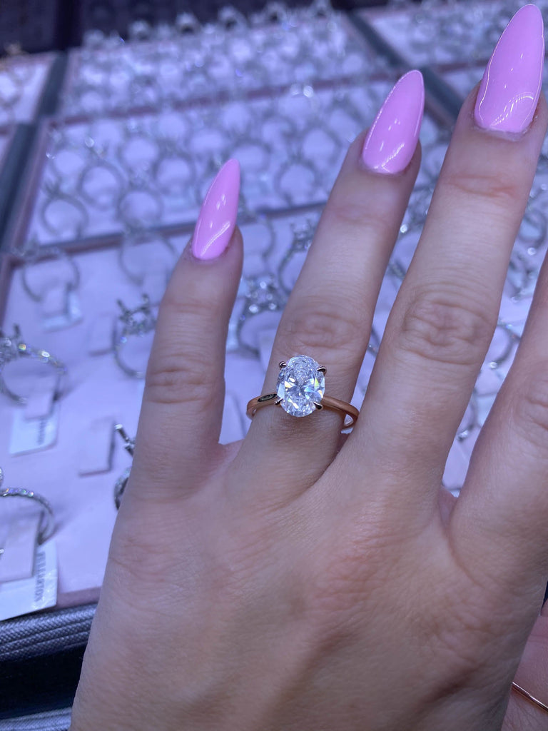 Engagement Ring Wednesday 2.01 Oval Diamond - Happy Jewelers Fine Jewelry Lifetime Warranty