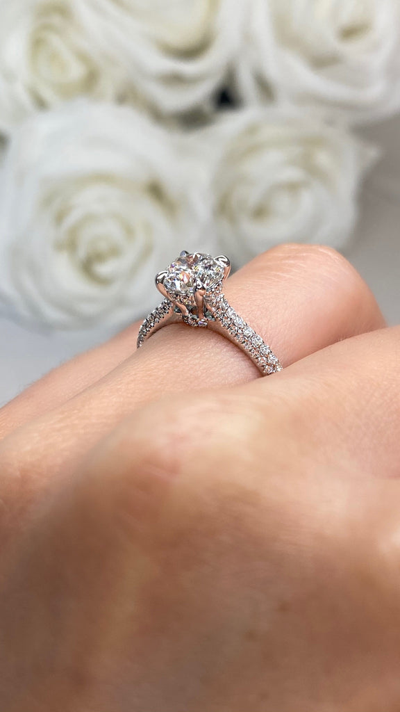 Engagement Ring Special 1.22 Round Brilliant - Happy Jewelers Fine Jewelry Lifetime Warranty
