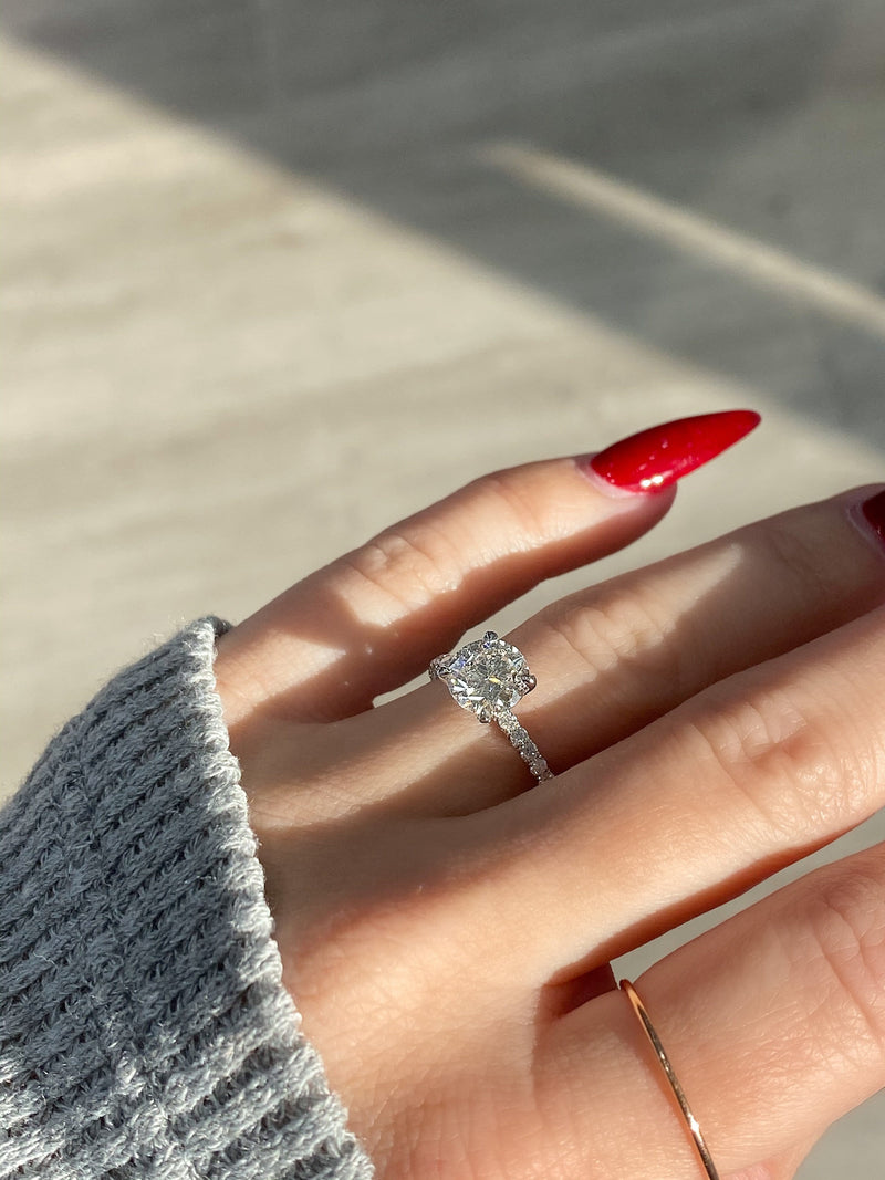 1.50 Round Diamond Engagement Ring - Happy Jewelers Fine Jewelry Lifetime Warranty