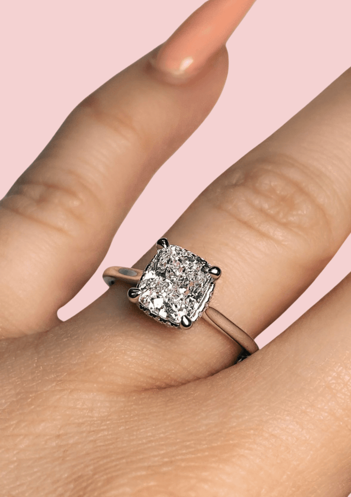 Engagement Ring 1.51 Cushion Cut Diamond - Happy Jewelers Fine Jewelry Lifetime Warranty